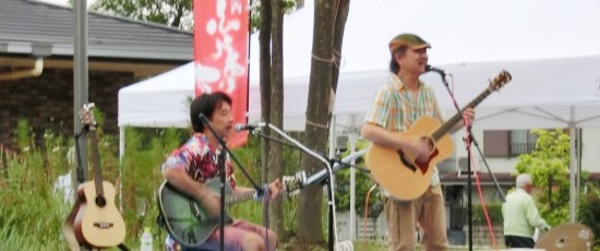 Live at Rakusai in Aug.2016