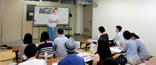 French class in Izumo in Summer 2017